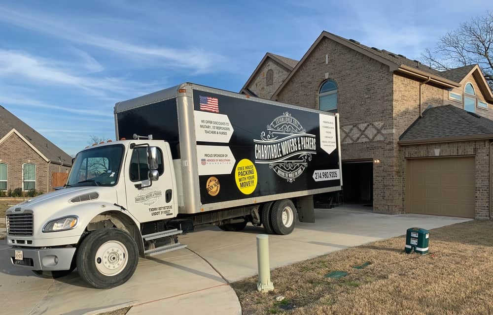 Charitable Movers and Packers in Midlothian, TX